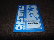 Chesterfield v Port Vale, 1977/78